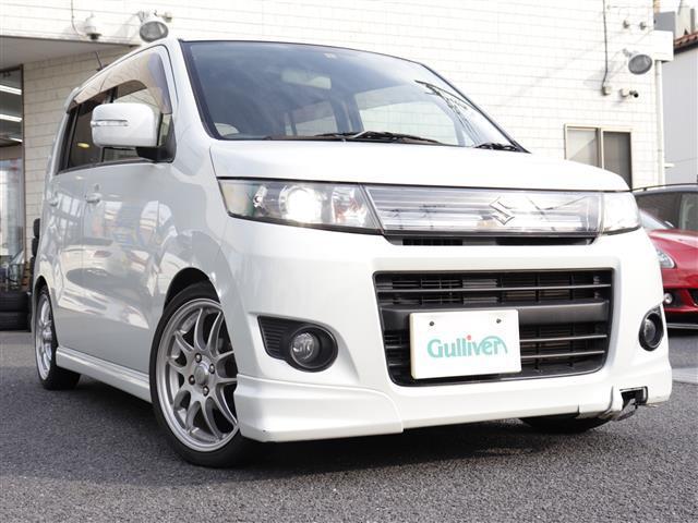 スズキ ワゴンRスティングレー リミテッドII CUSCOローダウン車高調キット Bluetoothオーディオ HID シートヒーター