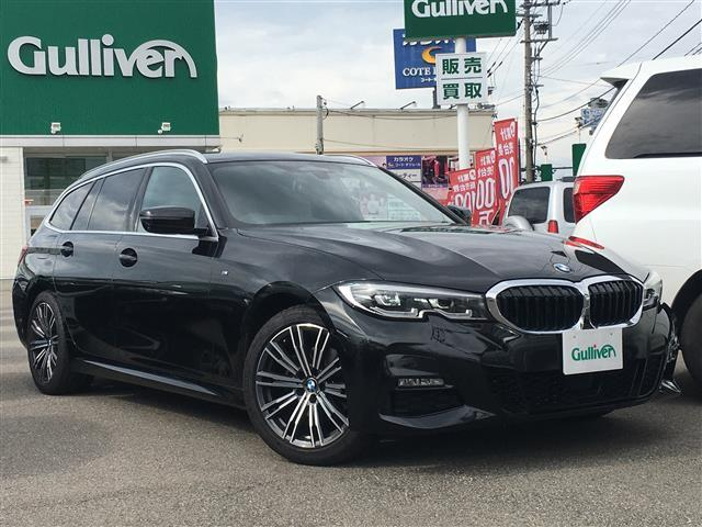 BMW 3シリーズ ツーリング Mスポーツ ワンオーナー コンフォートPKG ACC 18AW 白革
