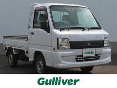 サンバートラックTB 4WD/社外オーディオ/フロアマット/ハロゲンライト/パワステ/エアコン/三方開