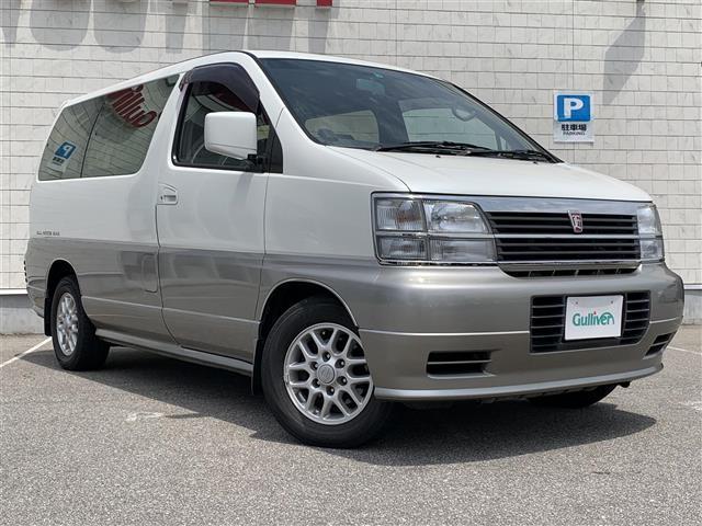 日産 V 1オーナー 4WD 軽油 ターボ サンルーフ