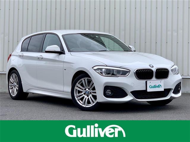 BMW 118d Mスポーツ インテリジェントセーフティー/純正ナビ(Bluetooth/CD/DVD/MSV/AM/FM/AUX/USB)/バックカメラ/LEDヘッドライト