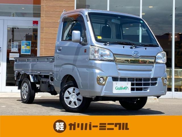 ダイハツ ハイゼットトラック 55th アニバーサリー ゴールドED 4WD/5速マニュアルシフト/純正オーディオ/CD/AM/FM/AUX/荷台ライト/純正ゴムマット/フォグランプ/バイザー/スペアタイヤ/145/12/6PR/スペアキー1本