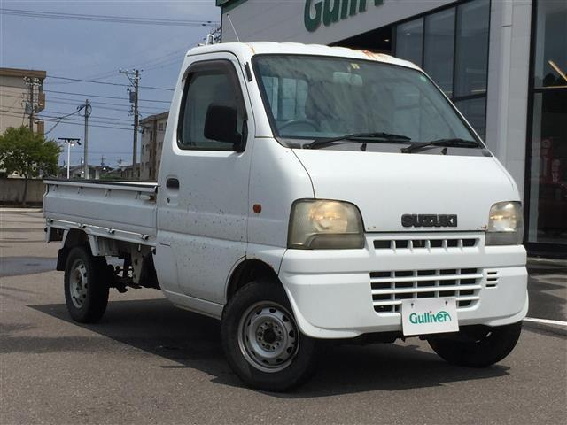 スズキ キャリイトラック KA パートタイム4WD/5MT/社外オーディオ