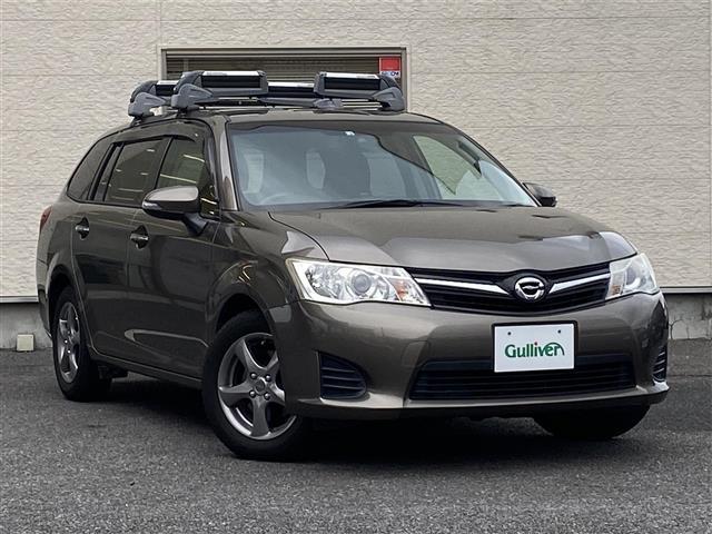 トヨタ カローラフィールダー 1.8S 禁煙車/純正HDDナビゲーション/TV/CD/DVD/Bluetooth/プッシュスタート/バックカメラ/MTモード付/純正フロアマット/純正HIDヘッドライト/横滑り防止装置
