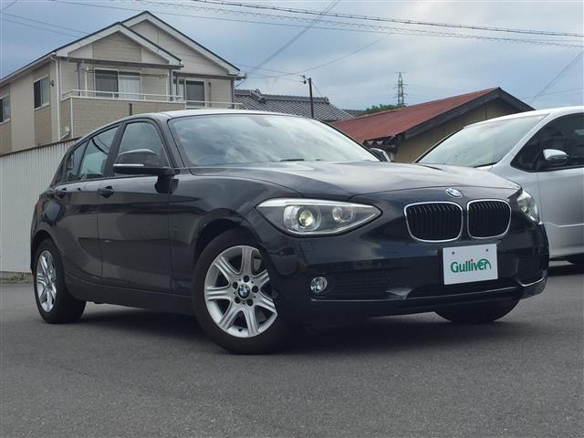 BMW 1シリーズ 116i シートヒータ DVD再生 Bカメラ 純正AW BT接続