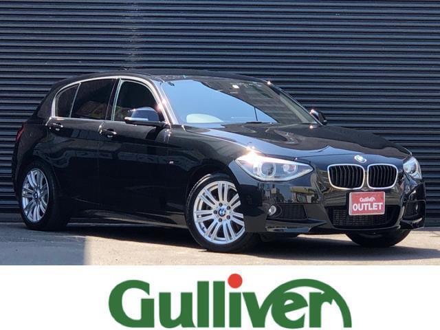 BMW 1シリーズ 116i Mスポーツ 純正メーカーHDDナビ 社外地デジチューナー DVD Bluetooth バックカメラ 純正HIDヘッドライト HIDフォグランプ オートライト オートワイパー ドライブレコーダー ETC キーレス