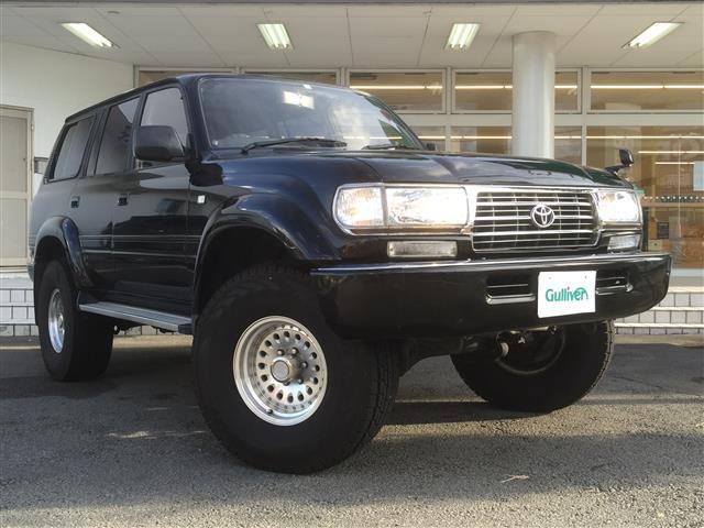 トヨタ ランドクルーザー80 VXリミテッド 4WD/リフトアップ6インチ/クルコン/サンルーフ/ヒッチメンバー