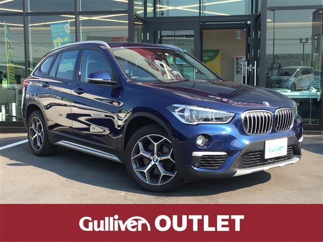 BMW X1 xDrive 18d xライン インテリジェントセーフティー/純正HDDナビ/バックカメラ/CD/DVD/AUX/Bluetooth/パワーバックドア/コーナーセンサー/ハーフレザーシート/アイドリングストップ/純正18インチAW