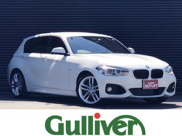 BMW 1シリーズ 118i Mスポーツ インテリジェントセーフティ レーンディパーチャーウォーニング オプション18インチアルミ 純正LEDヘッドライト フォグランプ オートライト ドラレコ 純正HDDナビ バックカメラ Bluetooth