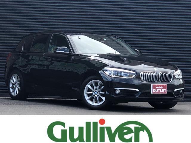 BMW 118d スタイル インテリジェントセーフティ レーンディパーチャー クルーズコントロール バックカメラ クリアランスソナー スマートキー 純正LEDヘッドライト フォグランプ オートライト 純正ナビ Bluetooth