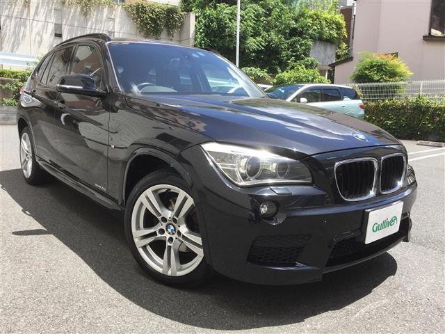 BMW X1 sDrive 20i Mスポーツ 保証書・取説 Egプッシュスタート・キーレスキー×2 MTモード付AT アイドリングストップ 純正HDDナビ DVD/CD/USB/BT/AUX バックカメラ ミラー一体型 ETC