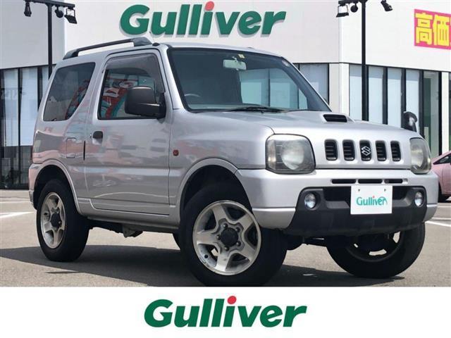 スズキ XC 4WD/CDオーディオ(DMX5555Zk)(FM/CD/MD)/純正フロアマット/フォグライト/ルーフレール/背面タイヤ/タイヤカバー