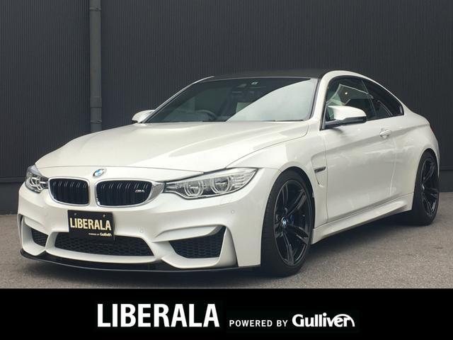 BMW M4 クーペ インディビジュアルED 全国10台限定車/オパールホワイトレザー/純正19インチアルミ/社外エアクリーナー/社外フロントリップスポイラー/社外テールランプ/3Dデザインパドルシフト/ホイルスペーサー/社外リアスポイラー