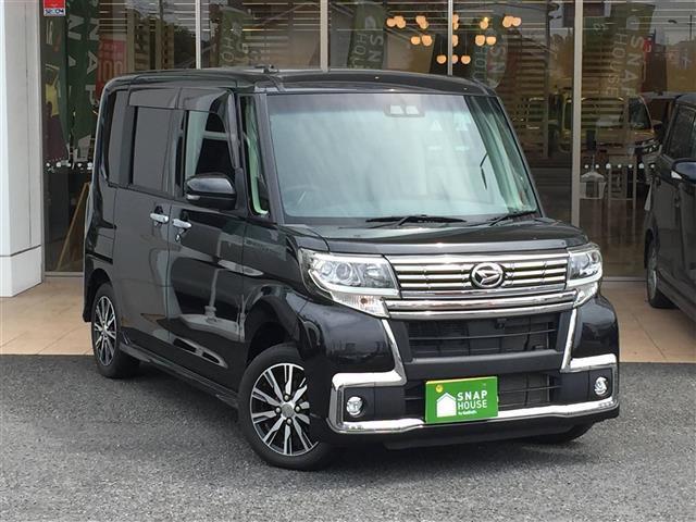 ダイハツ カスタムX トップエディションSAIII 社外ナビ/フルセグTV/両側パワースライドドア/運転席シートヒーター