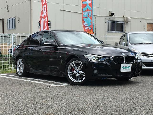 BMW 320d Mスポーツ 純正ナビ バックカメラ ETC インテリジェントセーフティ