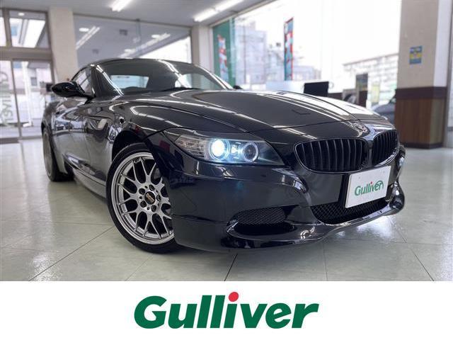 BMW Z4 sDrive23i ハイラインパッケージ 革シート/ BBS18インチAW/純正HDDナビ/パワーシート/シートヒーター/HID/リアスポイラー