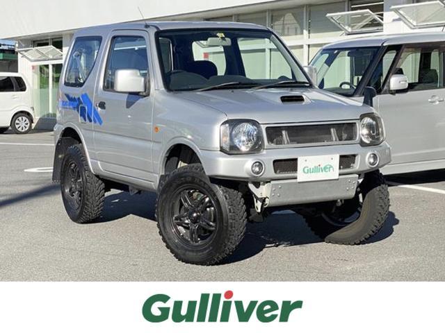 スズキ ジムニー XG 4WD オフロードタイヤ 純正AW オーディオ ETC