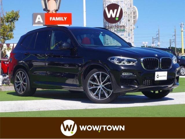 BMW X3 xDrive 20d Mスポーツ インテリジェントセーフティ サンルーフ 赤革 360°カメラ harmankardon 純正HDDナビ ドライブレコーダー パワーバックドア