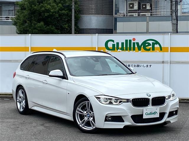 BMW 320dツーリング Mスポーツ 禁煙/ワンオーナー/正規ディーラー車/ディーラー記録簿H30-R2/純正HDDナビ/Bカメラ/ETC/衝突軽減ブレーキ/純正18AW/アクティブクルーズコントロール/パワーバックドア