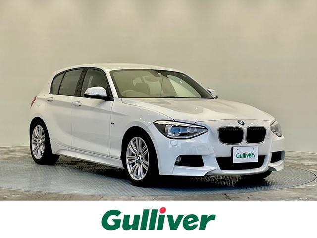 BMW 116i Mスポーツ 純正メーカーオプションHDDナビ/オートライト/ETC/ウィンカーミラー/アイドリングストップ/純正HIDヘッドライト/スペアキー×1