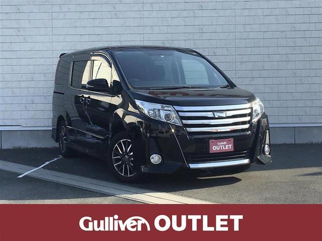トヨタ ノア Si ハ゛ックカメラLED フォク゛ランフ゜ ドラレコ リヤスポ 保証書 取説