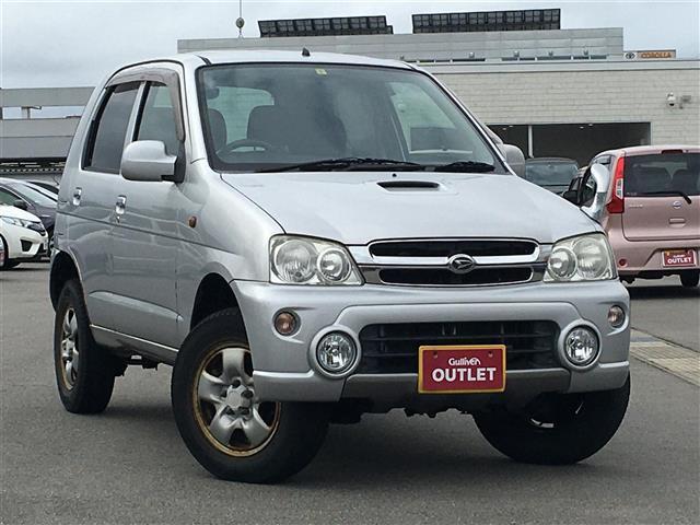 ダイハツ L 純正オーディオ 背面タイヤ 4WD