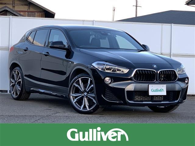 BMW X2 xDrive 20i MスポーツX 純正HDDナビ インテリジェントセーフティ クルーズコントロール パーキングビュー パーキングソナー レザーシート シートヒーター LEDヘッドライト 純正20AW RAYS製AW18インチ冬タイヤ