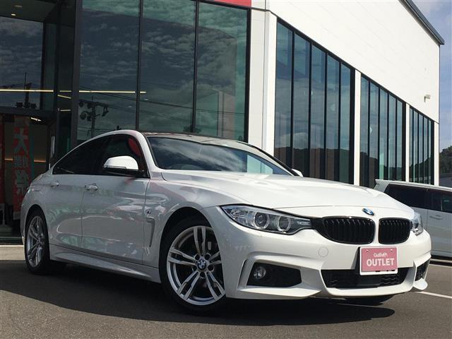 BMW 4シリーズ 420iグランクーペ Mスポーツ 衝突軽減ブレーキ純正ナビバックカメラコーナーセンサーレーンキープアシストレーダークルーズコントロールパドルシフトアンビエントライトビルトインETCスペアキー保証書取扱説明書