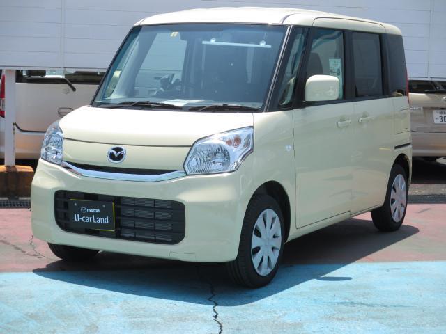 マツダ XS CVT 当社試乗車UP 両側電動スライドドア ディスチ