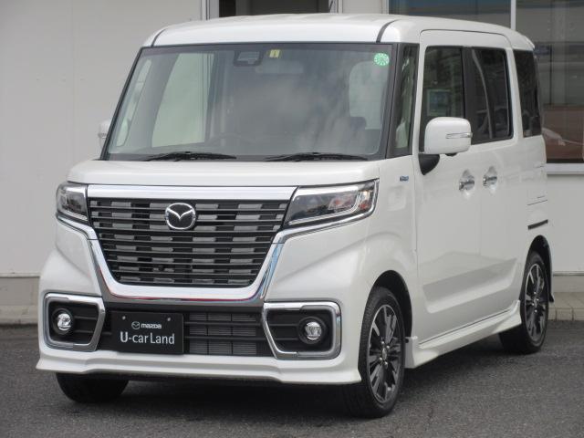 マツダ カスタムスタイルHV XS 両側電動スライドドア 当社試乗車