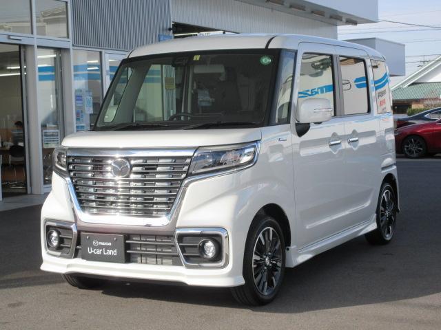マツダ カスタムスタイルHV XS 試乗車