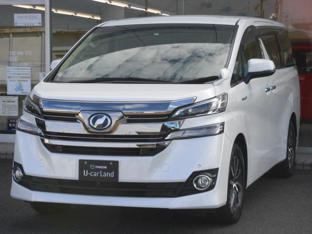 トヨタ X 衝突被害軽減システム 4WD 3列シート 両側電動スライド バックカメラ オートクルーズコントロール オートライト LEDヘッドランプ ETC Bluetooth ワンオーナー