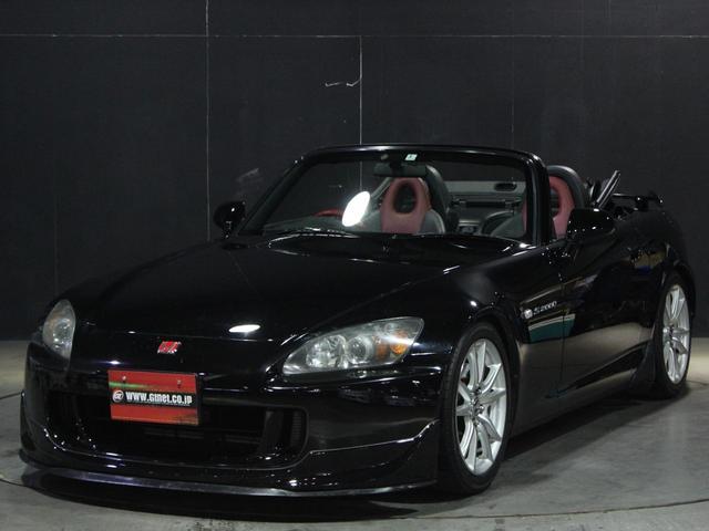 ホンダ ベースグレード 200系AP1最終モデル 赤黒コンビレザー