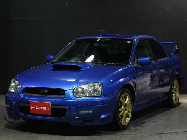 スバル WRXSTi2003Vリミテッド限定555台 STIマフラー