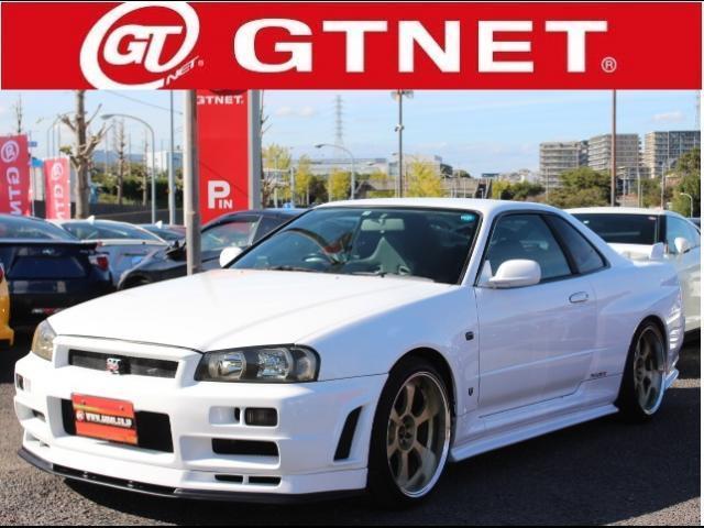 GT-R Vスペック 19AW ニスモエアロ ブリッツ車高調(1枚目)