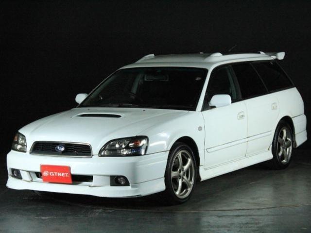 スバル W GT-B E-tune2 後期モデル 純正フルエアロ Tベルト交換済み 純正17アルミ キセノン パワーシート 追加メーター 外マフラー Rスポイラー ルーフレール