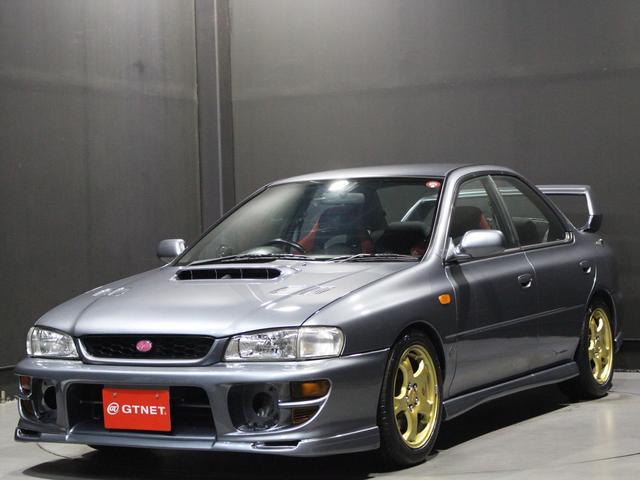 スバル インプレッサ WRX STiバージョン6 BLITZ車高調 HKSマフラー HKSブースト計 純正16インチアルミホイール