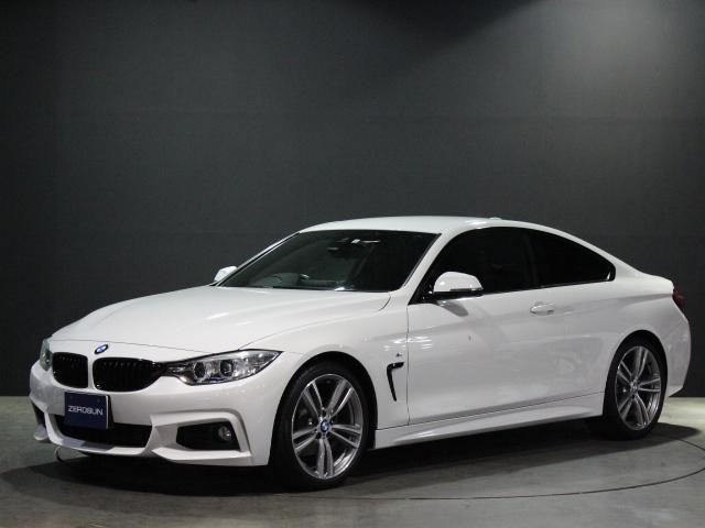BMW 4シリーズ 420i M Sport RHD 純正HDDナビ フルセグTV Bモニター クルコン レザーシート 電動シート シートヒーター HID スマートキー