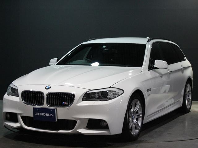 BMW 5シリーズ 523dブルーパフォーマンスツーリング Mスポーツ 純正ナビ フルセグTV クルコン メモリー機能付きパワーシート 純正18AW パークディスタンス コンフォートアクセス バイキセノン パドルシフト フォグ