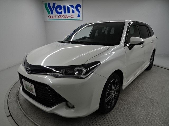 トヨタ 1.5G WxB新品フルセグメモリ-ナビ取付 エアロ アルミ