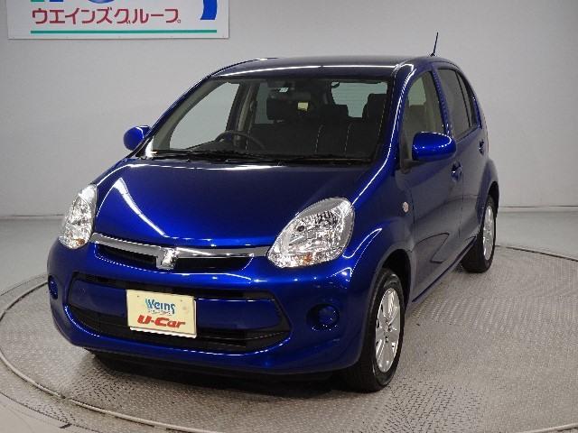 トヨタ 1.0X Lパッケージ・キリリ  メモリーナビ バックカメラ