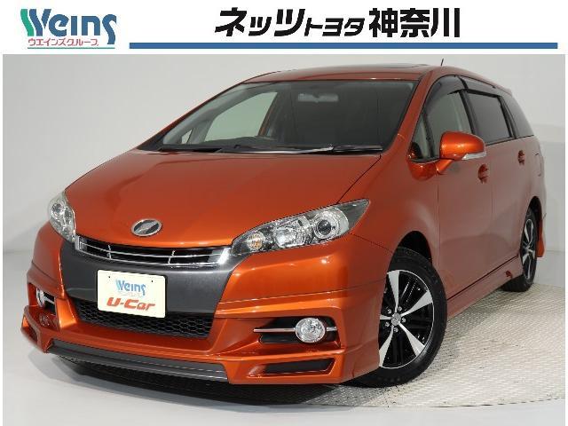 トヨタ 1.8S ムーンルーフ 純正メモリーナビ バックモニター