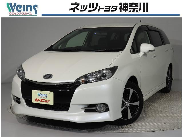 トヨタ 1.8Sモノトーン スマートキー フルエアロ メモリーナビ