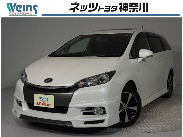 トヨタ 1.8S サンルーフ ドラレコ ナビ ETC フルエアロ