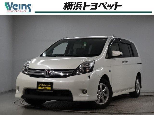 トヨタ プラタナ Vセレクション・ブラン スマートキー HDDナビ