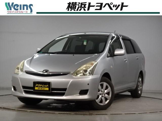トヨタ ウィッシュ X 7人乗り DVDナビ 走行46181キロ