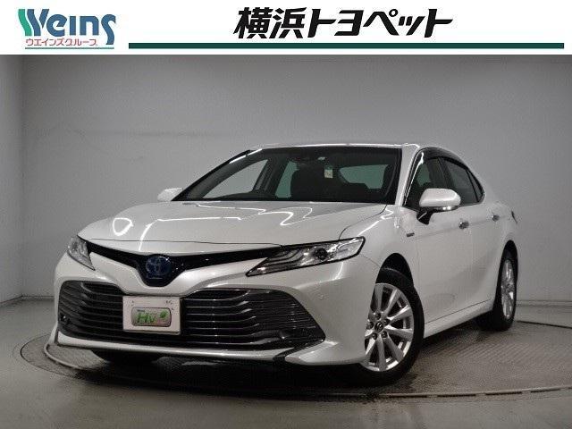 トヨタ カムリ HV G 当社社用車 メーカー装着SDナビ バックカメラ