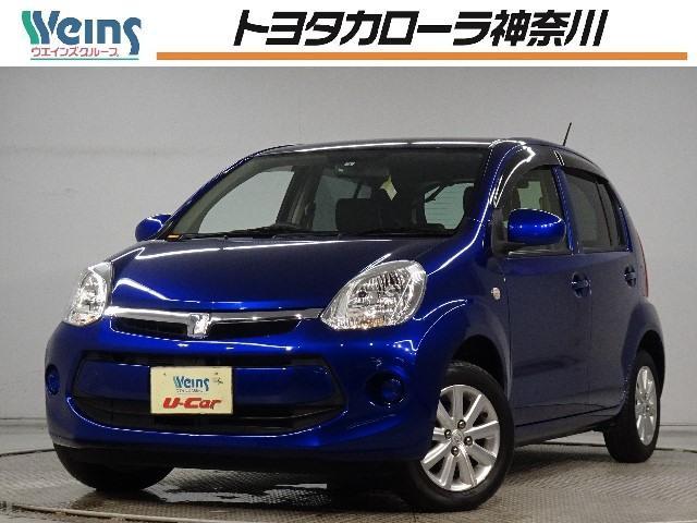 トヨタ パッソ 1.0X Lパッケージ・キリリ ワンオーナー メモリーナビ