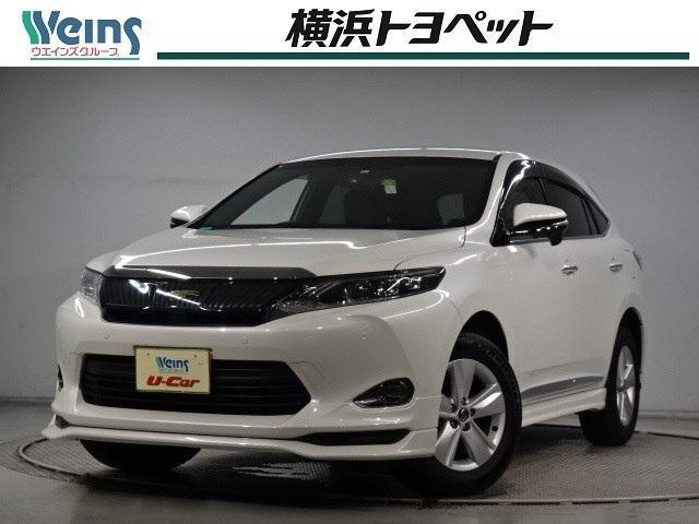 トヨタ ハリアー エレガンス ・純正MOPナビ・モデリスタフルエアロ・ETC・ワンオーナー
