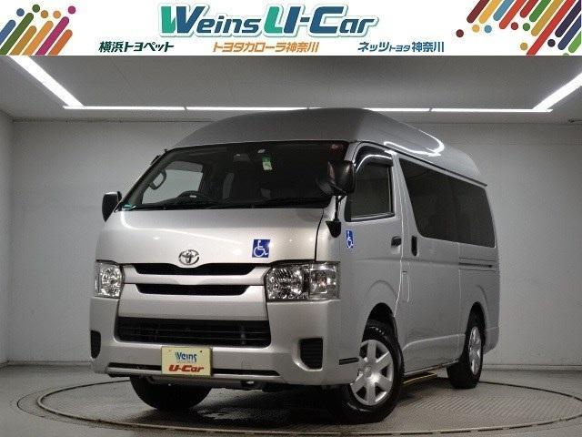トヨタ  福祉車両 10人乗り 車いすスロープ乗込みタイプ 消費税非課税 ナビTV ETC 自動ドア